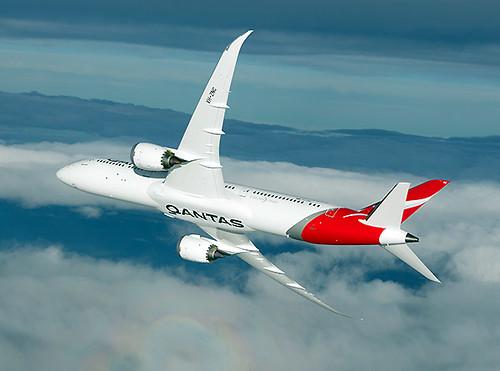 Qantas B787-9 VH-ZNC turn (Qantas)