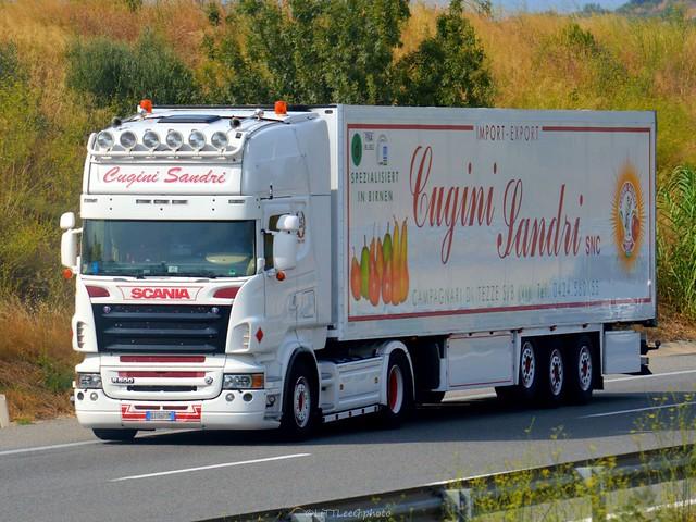 Scania R500 V8 Topline Cugini Sandri ( I )