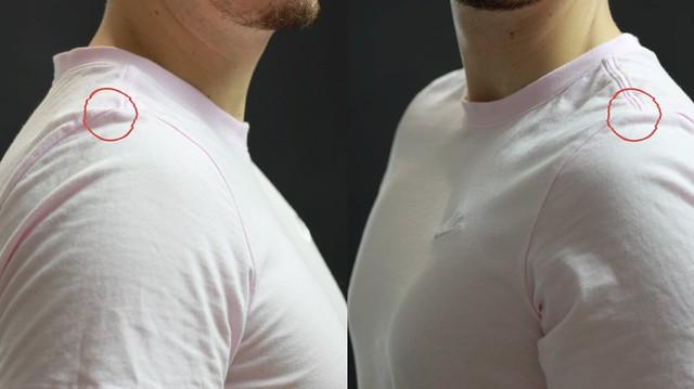 Camiseta Nike tara en rosa