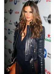 Alessandra Ambrosio Grammy Awards Jacket