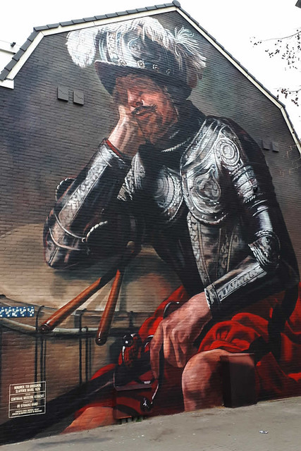 Street art in Utrecht, Slapende Mars | Your Dutch Guide