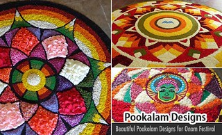60 Most Beautiful Pookalam Designs for Onam Festival