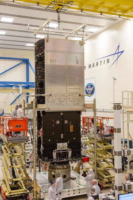 GOES-U System Module and Core Module Mated