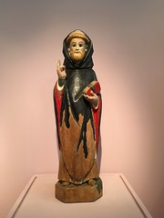 Sant Antoni Abad, de Gáceta, Museu d'Art Sacre, Catedral de Maria Immaculada, s. XX #neogòtic #Gasteiz #Vitoria #Euskadi