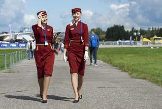 Yakutia Airlines girl