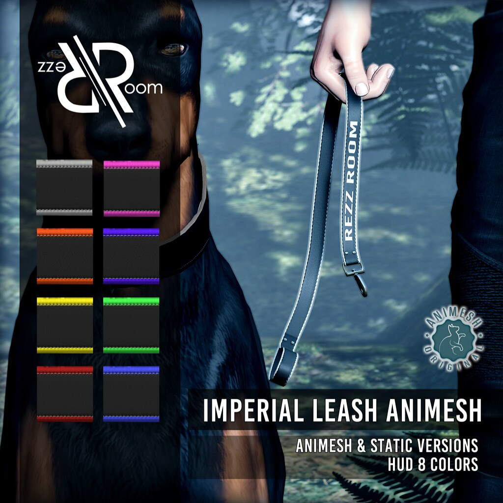 [Rezz Room] Vendor IMPERIAL LEASH ANIMESH