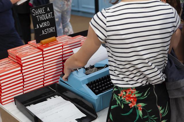 Typewriter in the Bookshop