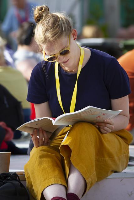 Browsing the brochure
