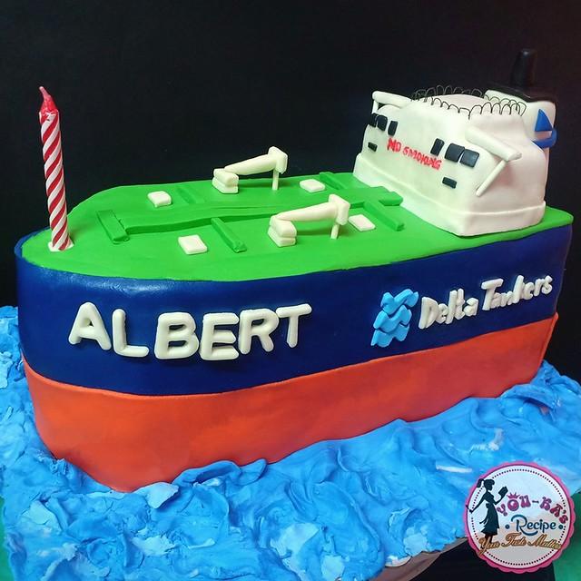 Tanker Ship Cake by YOU-KA's Recipe