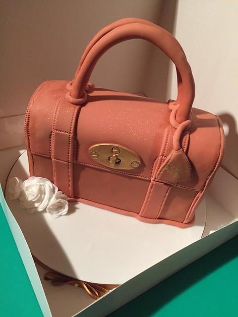 Handbag Cake by Lace Cakes