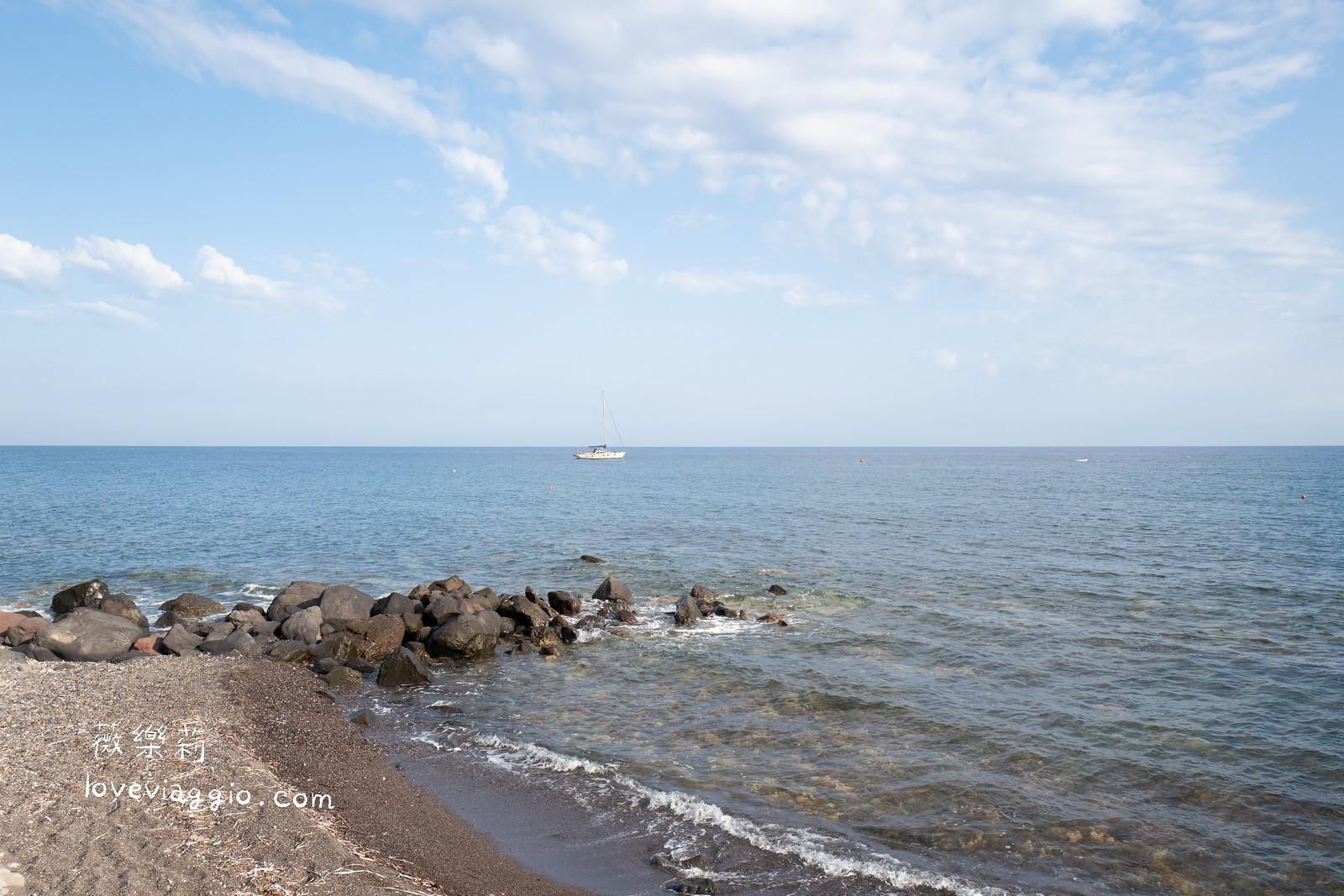 【聖托里尼 Santorini】The Cave of Nikolas 海邊旁的好評小餐館 品嚐傳統道地海鮮料理 @薇樂莉 Love Viaggio | 旅行.生活.攝影