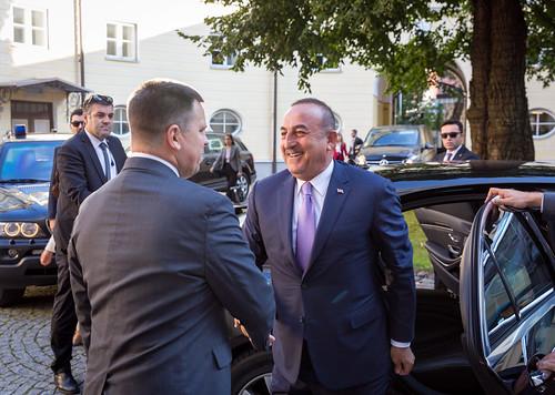 Kohtumine Türgi välisminister Mevlüt Çavuşoğluga, 28.08.2019