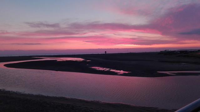 Puesta de sol en Conil de la Frontera _Cadiz