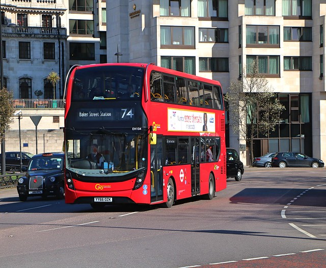 Go Ahead London General - EH104 - YY66OZK