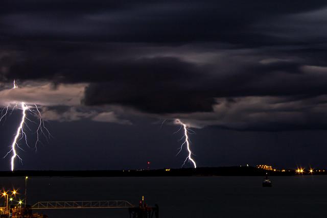 Lightning, Darwin