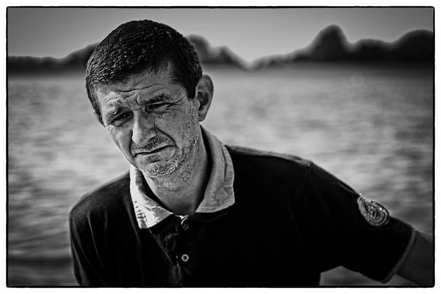 the sad fisherman