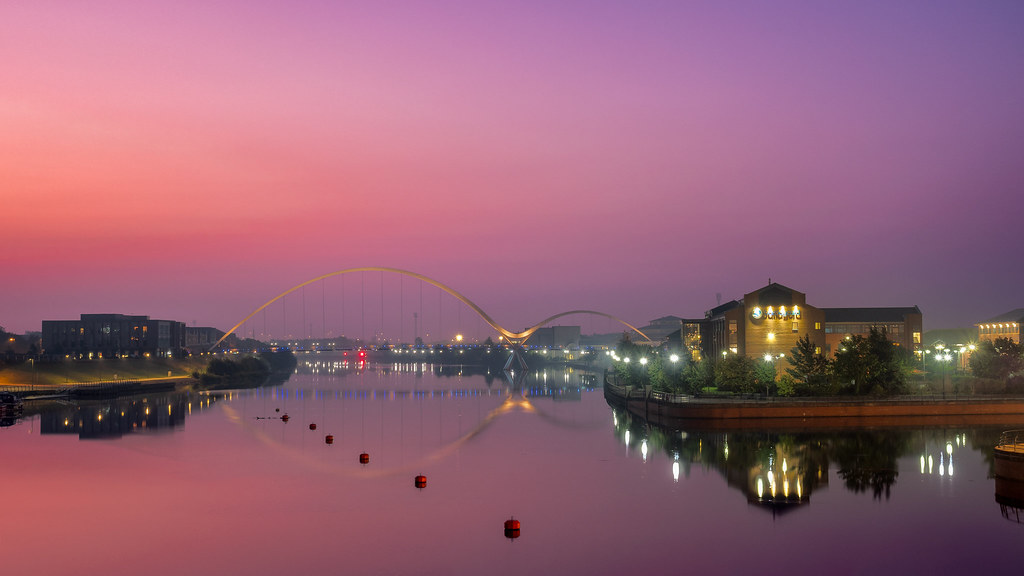 Infinity Bridge Dawn