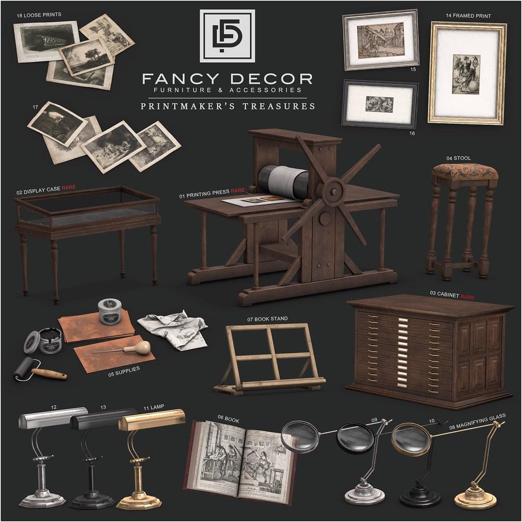 Printmaker's Treasures - The Arcade - TeleportHub.com Live!