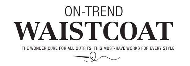 Waistcoat Trend Pattern HEADER