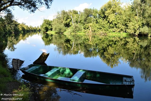 Karlovac, Karlovac County, Croatia, river Korana - Just easy....