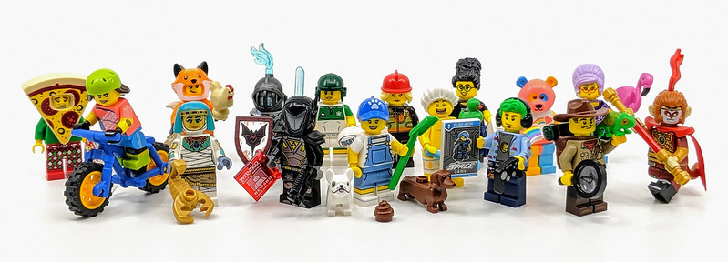 71025: LEGO Minifigures Series 19 Review