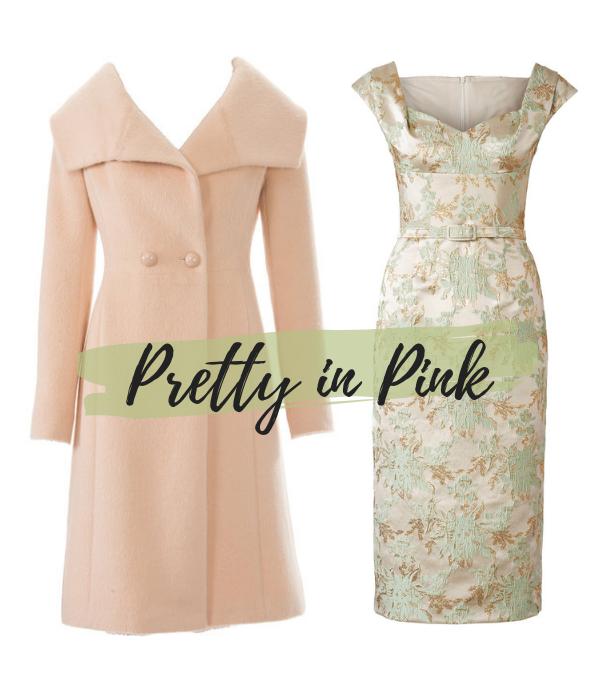 Aug 19 Retro Dress Pink