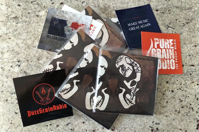 A PRIMITIVE EVOLUTION Are Touring So We're Giving Away Signed Albums!