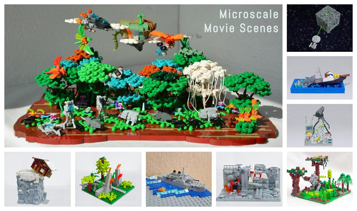 Concurs Microscale Movie Scenes – Clasament creatii