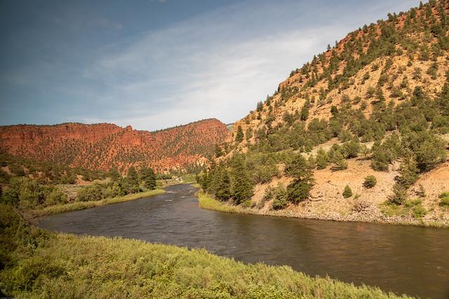 The Meandering Colorado River