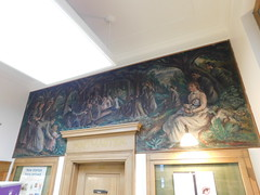 Lewisburg, West Virginia Post Office Mural