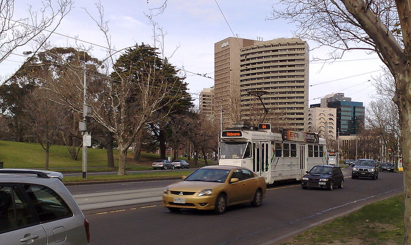 St Kilda Road, August 2009