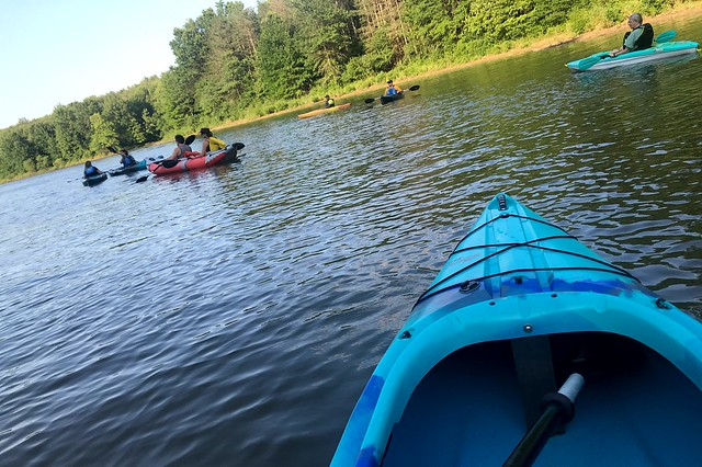 213:365 Evening paddle
