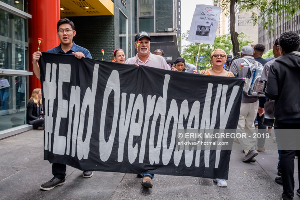 13 arrested demanding Cuomo to put an end to the overdose crisis