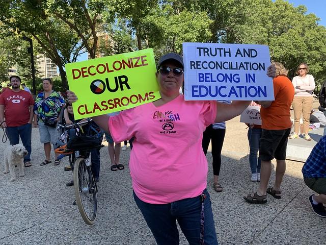 Education Curriculum Protest