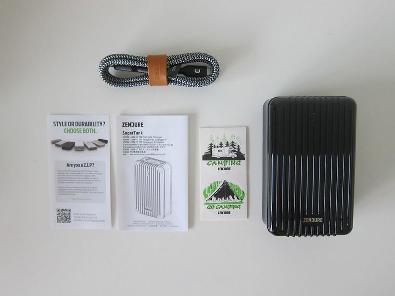 Zendure SuperTank - Box Contents
