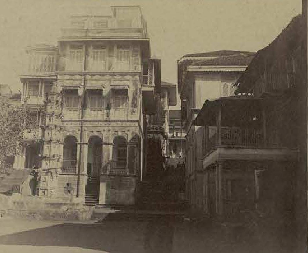 Дом богатого индийца в Бомбее