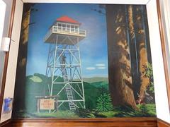 Elkins WV Forestry Building Mural