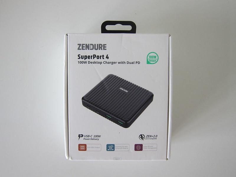 Zendure SuperPort 4 - Box Front