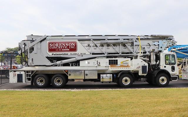 Sorenson Concrete Inc. Truck