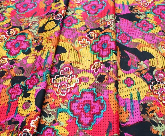 Art Gallery Fabrics Nuncia Flowers Everywhere Intention