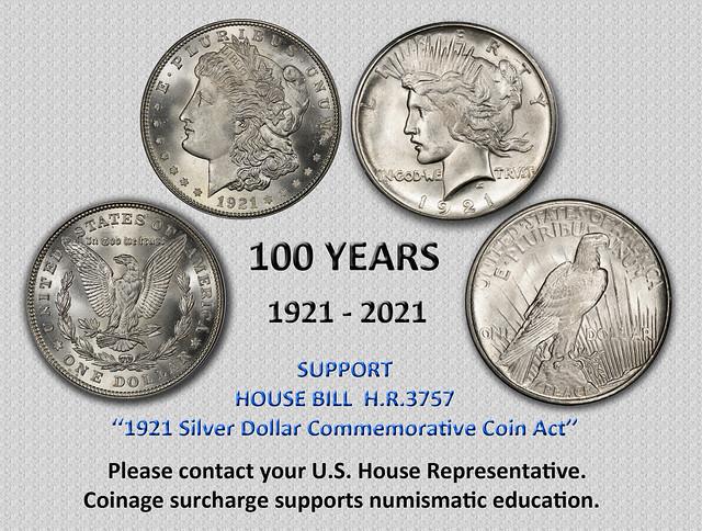 2020 coin legislation 100 years