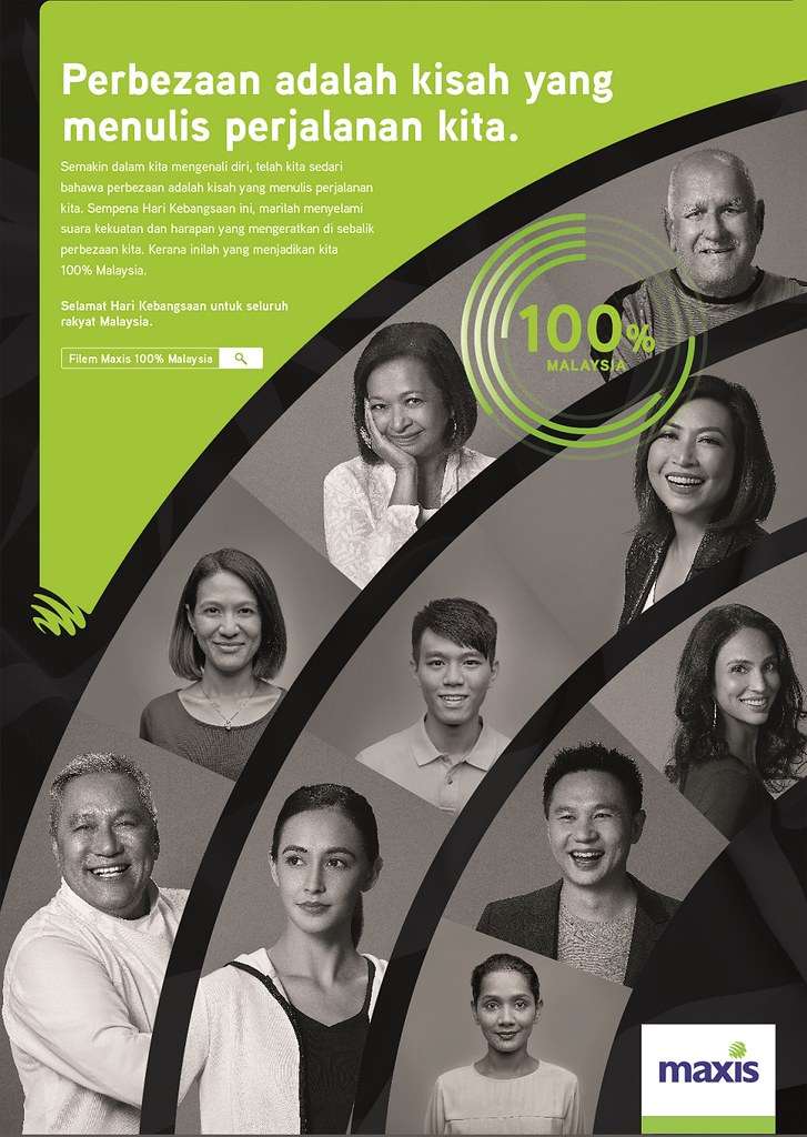 Kempen Maxis #100Peratusmalaysia