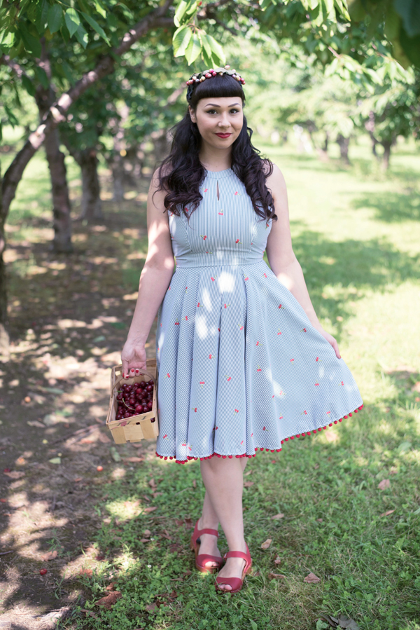 pinup cherry dress