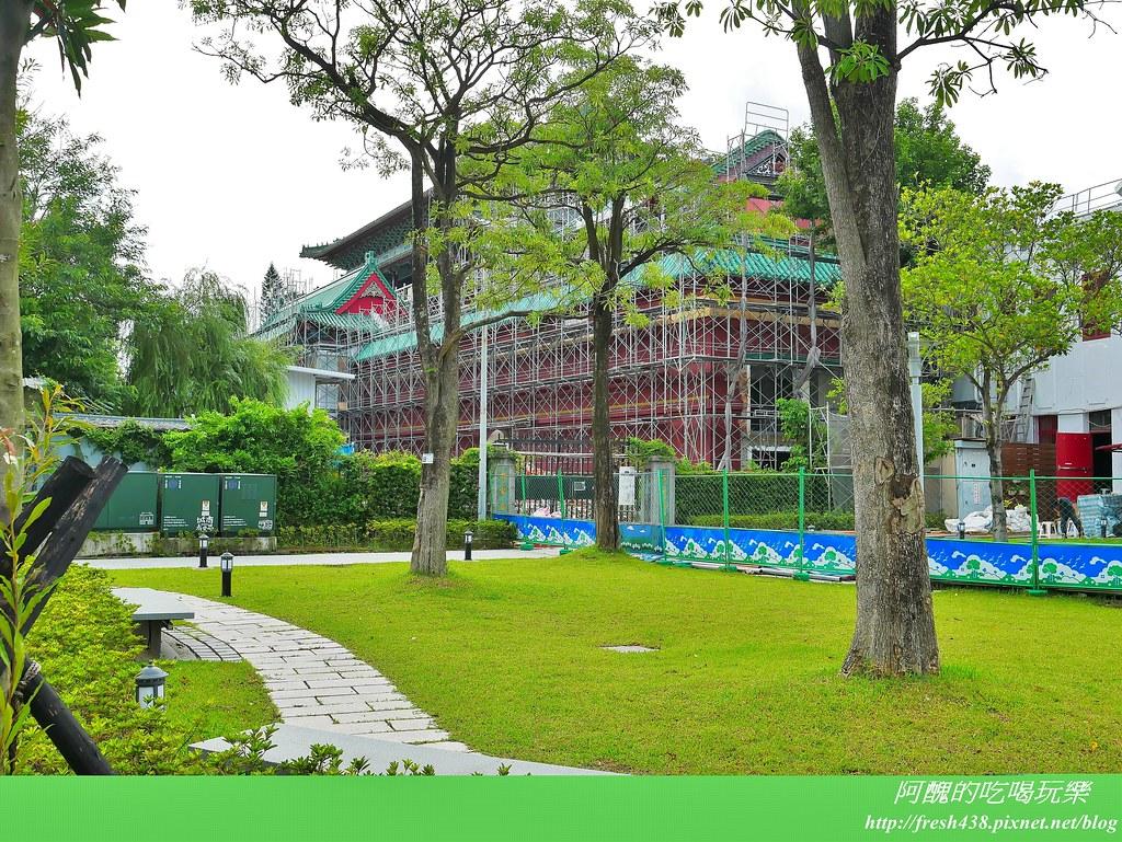 39-2植物園旁的歷史博物館(正在整修外牆)