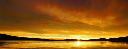 sunsetbeach sunset inletnewyork goldenhour hamiltoncounty sky cloudscape clouds centraladirondacks