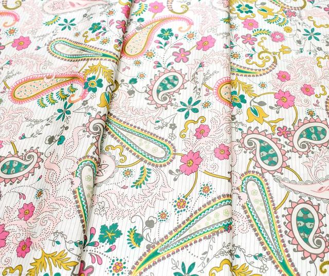 Art Gallery Fabrics Nuncia Paisleys Forever Rosa