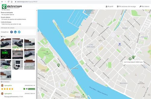 Colaborando en ElectroMaps: Mapa de Punto De Recarga (PDR)