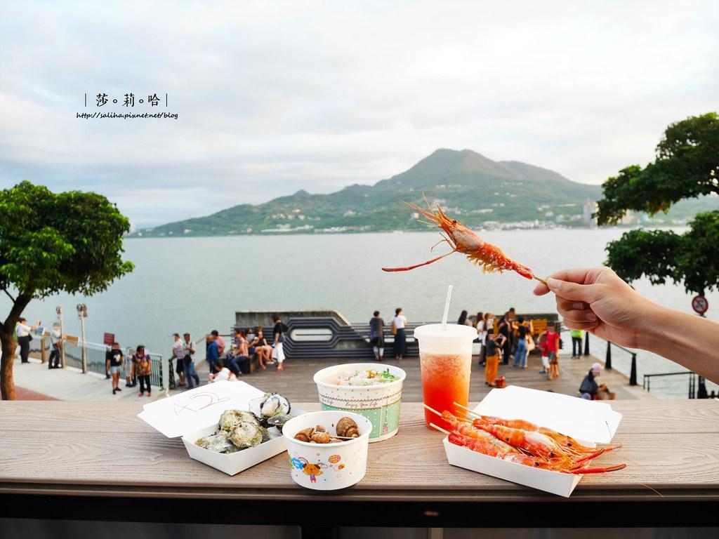 淡水橫町平價海鮮燒烤景觀餐廳推薦 (13)