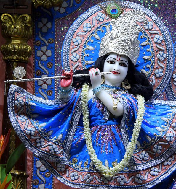 ISKCON Juhu Mangal Deity Darshan on 29th Aug 2019