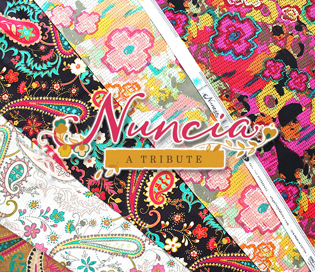 Art Gallery Fabrics Nuncia Collection by Pat Bravo